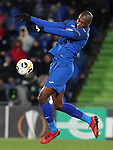 Getafe CF's Allan Nyom during UEFA Europa League match. December 12,2019. (ALTERPHOTOS/Acero)