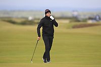 Lucas Bjerregaard (DEN) on the 17th fairway during round 4 of the Alfred Dunhill Links Championship at Old Course St. Andrew's, Fife, Scotland. 07/10/2018.<br /> Picture Thos Caffrey / Golffile.ie<br /> <br /> All photo usage must carry mandatory copyright credit (&copy; Golffile | Thos Caffrey)