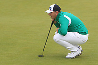 Matt Wallace (ENG) on the 6th during Round 2 of the Irish Open at LaHinch Golf Club, LaHinch, Co. Clare on Friday 5th July 2019.<br /> Picture:  Thos Caffrey / Golffile<br /> <br /> All photos usage must carry mandatory copyright credit (© Golffile | Thos Caffrey)