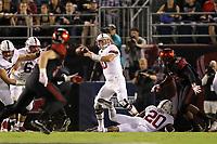 San Diego, CA - September 16, 2017:  Stanford Football vs. San Diego State at Qualcomm Stadium. Final score: San Diego State 20, Stanford 17.