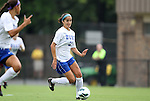 19 August 2012: Duke's Gilda Doria. The Duke University Blue Devils defeated the Elon University Phoenix 8-0 at Koskinen Stadium in Durham, North Carolina in a 2012 NCAA Division I Women's Soccer game.