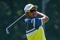 Hideki Matsuyama (JPN) watches his tee shot on 2 during round 4 of the WGC FedEx St. Jude Invitational, TPC Southwind, Memphis, Tennessee, USA. 7/28/2019.<br /> Picture Ken Murray / Golffile.ie<br /> <br /> All photo usage must carry mandatory copyright credit (© Golffile | Ken Murray)