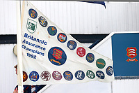 The Britannic Assurance Champions 1992 flag on display during Essex CCC vs Yorkshire CCC, Specsavers County Championship Division 1 Cricket at The Cloudfm County Ground on 25th September 2017