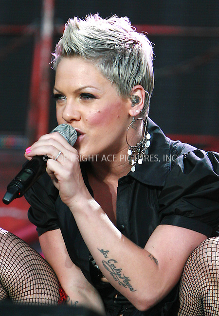 WWW.ACEPIXS.COM . . . . .  ..... . . . . US SALES ONLY . . . . .....July 2 2010, London....Pink at the Wireless Festival in Hyde Park on July 2 2010 in London ....Please byline: FAMOUS-ACE PICTURES... . . . .  ....Ace Pictures, Inc:  ..tel: (212) 243 8787 or (646) 769 0430..e-mail: info@acepixs.com..web: http://www.acepixs.com
