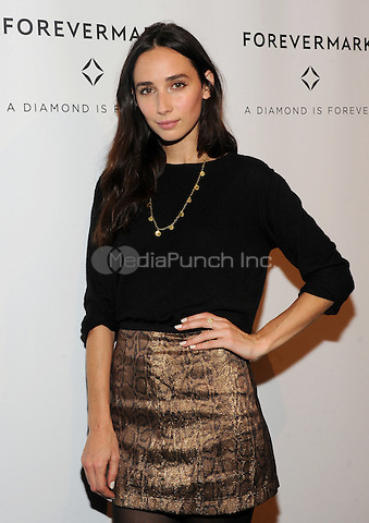 NEW YORK, NY - OCTOBER 27:  Rebecca Dayan attends the Forevermark Celebration of 'A Diamond Is Forever' at Stephan Weiss Studios on October 28, 2015 in New York City. Photo Credit: Credit: John Palmer/MediaPunch