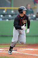 Quad Cities River Bandits third baseman Ryan Dineen #12 during a game against the Clinton LumberKings May 26, 2013 at Ashford University Field in Clinton, Iowa.  Quad Cities defeated Clinton 5-2.  (Mike Janes/Four Seam Images)