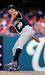 9 July 2011: Colorado Rockies pitcher Ubaldo Jimenez on the mound against the Washington Nationals at Nationals Park in Washington, District of Columbia. The Rockies edged out the Nationals 2-1 to win the second game of their 3-game series. Mandatory Credit: Ed Wolfstein Photo