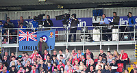 A general view of Sincil Bank, home of Lincoln City FC showing the TV commentary gantry<br /> <br /> Photographer Andrew Vaughan/CameraSport<br /> <br /> The EFL Sky Bet League Two Play Off First Leg - Lincoln City v Exeter City - Saturday 12th May 2018 - Sincil Bank - Lincoln<br /> <br /> World Copyright &copy; 2018 CameraSport. All rights reserved. 43 Linden Ave. Countesthorpe. Leicester. England. LE8 5PG - Tel: +44 (0) 116 277 4147 - admin@camerasport.com - www.camerasport.com