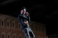 Il cantautore Samuel sul palco del concerto del Primo Maggio promosso da Cgil, Cisl e Uil in occasione della Festa del Lavoro, in piazza San Giovanni a Roma, 1 maggio 2017.<br /> Italian singer and songwriter Samuel performs on stage during the May Day free concert on the occasion of the International Workers' Day, in St. John Lateran's Square, Rome, May 1, 2017.<br /> UPDATE IMAGES PRESS/Riccardo De Luca