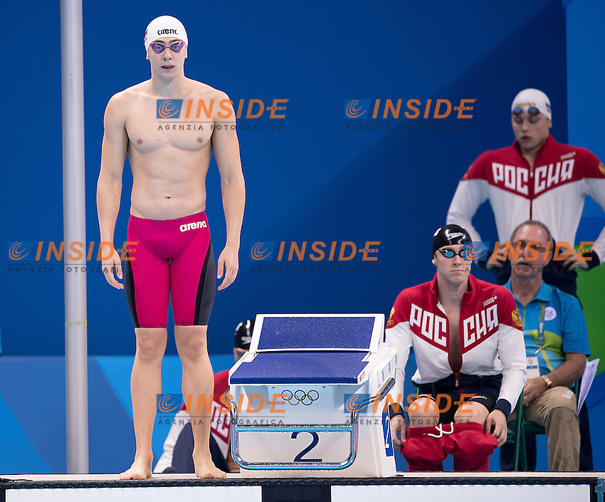 4x200 freestyle men RUS<br /> <br /> Rio de Janeiro XXXI Olympic Games <br /> Olympic Aquatics Stadium <br /> Swimming heats 09/08/2016<br /> Photo Giorgio Scala/Deepbluemedia/Insidefoto