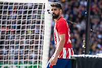 Atletico de Madrid Diego Costa during La Liga match between Real Madrid and Atletico de Madrid at Santiago Bernabeu Stadium in Madrid, Spain. April 08, 2018. (ALTERPHOTOS/Borja B.Hojas) /NortePhoto NORTEPHOTOMEXICO