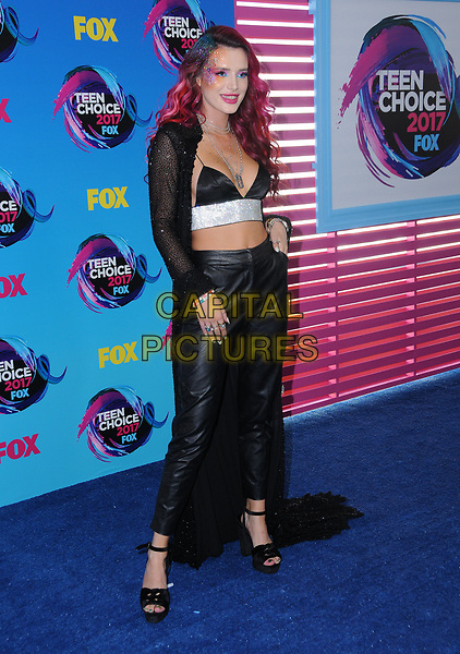 13 August  2017 - Los Angeles, California - Bella Thorne. Teen Choice Awards 2017 held at the Galen Center in Los Angeles. <br /> CAP/ADM/BT<br /> &copy;BT/ADM/Capital Pictures