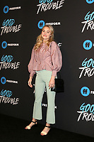 "LOS ANGELES - JAN 8:  AJ Michalka at the ""Good Trouble"" Premiere Screening at the Palace Theater on January 8, 2019 in Los Angeles, CA"