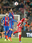 FC Barcelona's Andre Gomes (l) and Atletico de Madrid's Fernando Torres during Spanish Kings Cup semifinal 2nd leg match. February 07,2017. (ALTERPHOTOS/Acero)