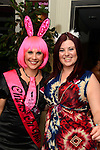 Grace Doyle and Nadine Cleary at Kelly Begley's hen night in Barocco. Photo: Andy Spearman. www.newsfile.ie