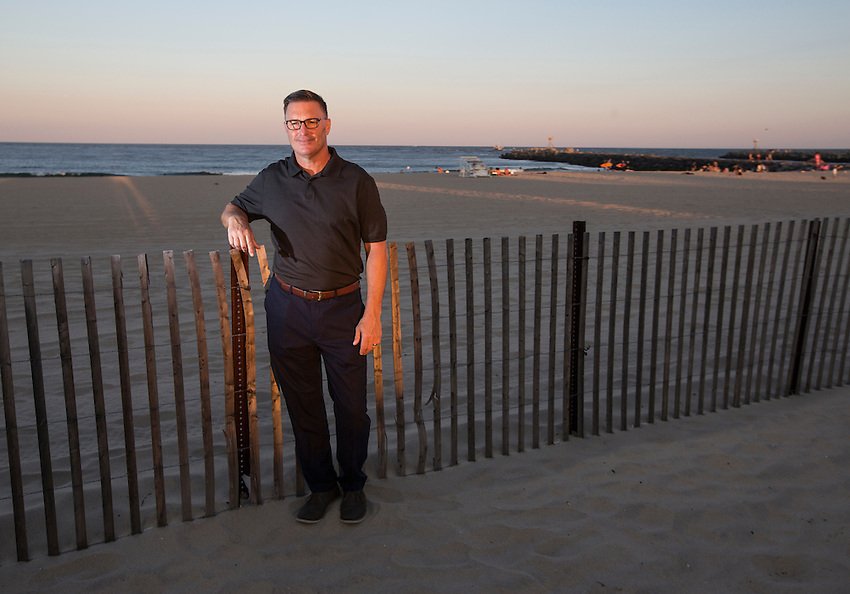 Manasquan Democrats 2016 campaign photos. <br /> <br /> Borough council candidate Rich Read.  8/24/16  (photo by Andrew Mills)