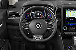 Car pictures of steering wheel view of a 2020 Renault Koleos Initiale Paris 5 Door SUV