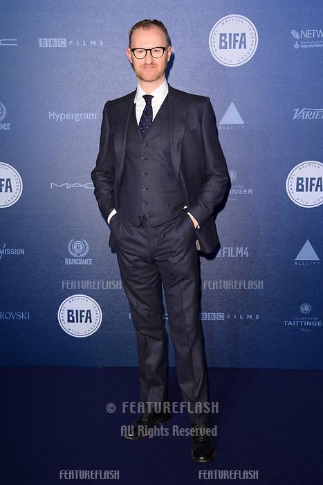 Mark Gatiss at the British Independent Film Awards 2017 at Old Billingsgate, London, UK. <br /> 10 December  2017<br /> Picture: Steve Vas/Featureflash/SilverHub 0208 004 5359 sales@silverhubmedia.com