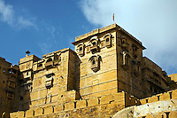 The MAHARAJA'S PALACE is located in JAISALMER FORT in the GOLDEN CITY - RAJASTHAN, INDIA