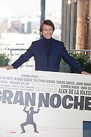 Singer Raphael poses during `Mi gran noche´ film presentation in Madrid, Spain. February 20, 2015. (ALTERPHOTOS/Victor Blanco) /NORTEphoto.com