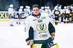Stockholm 2014-01-18 Ishockey SHL AIK - F&auml;rjestads BK :  <br /> F&auml;rjestads m&aring;lvakt Luca Boltshauser efter matchen<br /> (Foto: Kenta J&ouml;nsson) Nyckelord:  portr&auml;tt portrait