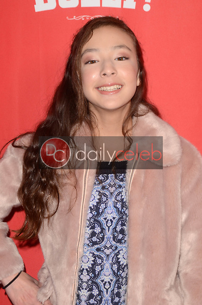 Aubrey Anderson-Emmons<br /> at the Hello Dolly! Los Angeles Premiere, Pantages Theater, Hollywood, CA 01-30-19<br /> David Edwards/DailyCeleb.com 818-249-4998