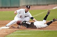 SAN ANTONIO, TX - FEBRUARY 27, 2011: The St. Joseph's University Hawks vs. the University of Texas at San Antonio Roadrunners Baseball at Wolff Stadium. (Photo by Jeff Huehn)