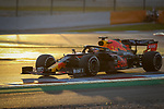 Aston Martin Red Bull Racing Honda, Max Verstappen, takes part in the tests for the new Formula One Grand Prix season at the Circuit de Catalunya in Montmelo, Barcelona. February 19, 2020 (ALTERPHOTOS/Javier Martínez de la Puente)