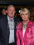 Ray Ferris and Sandra Sheils from The Mascot at the Ardee Traders Dinner in Muldoons. Photo:Colin Bell/pressphotos.ie