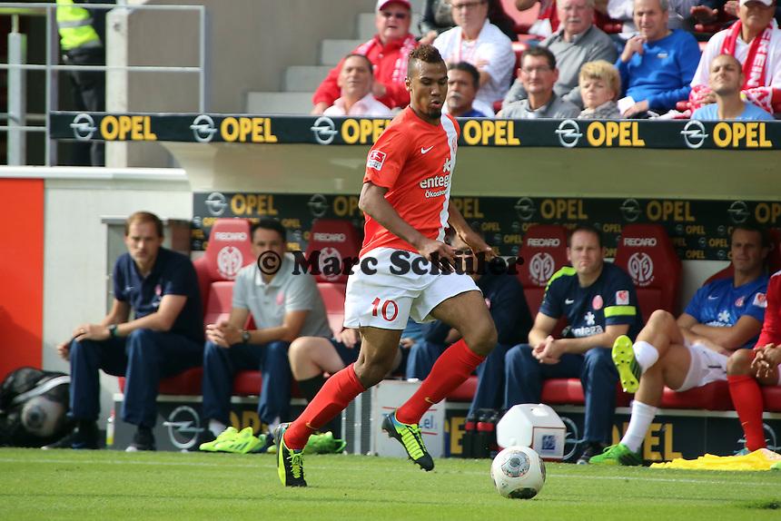 Eric-Maxim Choupo-Moting (Mainz) - 1. FSV Mainz 05 vs. Bayer 04 Leverkusen, Coface Arena, 6. Spieltag