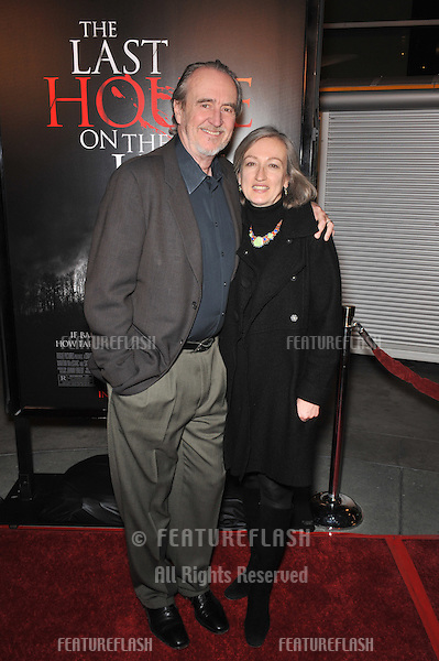 "Wes Craven & wife Iya Craven at the world premiere of ""The Last House on the Left"" at the Arclight Theatre, Hollywood..March 10, 2009  Los Angeles, CA.Picture: Paul Smith / Featureflash"