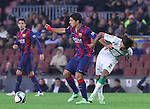 08.01.2014 Barcelona, Spain. Spanish Cup. Picture show Luis SUarez in action during game between FC Barcelona against Elche at Camp Nou