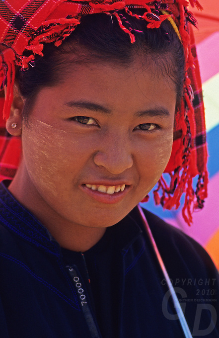 Girl from the Shan State Northern Myanmar
