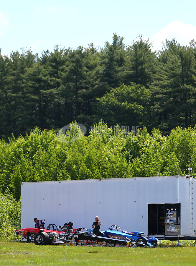 Jun 6, 2016; Epping , NH, USA; NHRA super comp / super gas driver XXXX during the New England Nationals at New England Dragway. Mandatory Credit: Mark J. Rebilas-USA TODAY Sports