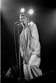 DAVID BOWIE - performing live on Isolar II - The 1978 World Tour at the Pavilion de Paris in Paris France - 24 May 1978.  Photo credit: Christian Rose/Dalle/IconicPix  ++AVAILABLE FOR THE UK ONLY++