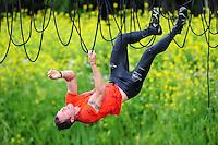 SURVIVAL: DE KNIPE: Stichting Survival De Knipe, 03-06-2012, 11e Survivalrun De Knipe, Winnaar Danny Hagebeek uit Rutten (#152), ©foto Martin de Jong