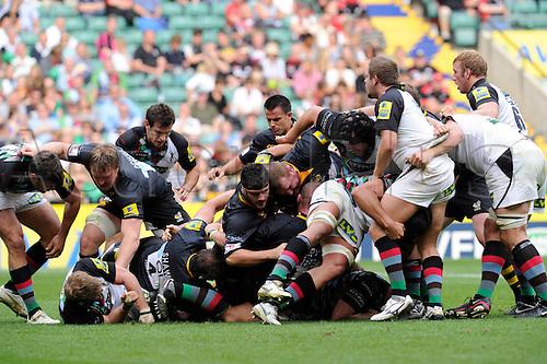 04.09.2010 Aviva Premiership Rugby Twickenham Stadium, London Wasps v Harlequins, London,