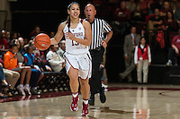 Stanford, CA; Friday November 11, 2016;  Woman's Basketball vs Cal Poly, Final score Stanford 83, Cal Poly 55