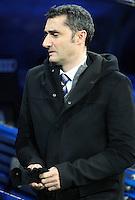 Valencia's coach Ernesto Valverde during King's Cup match. January 15, 2013. (ALTERPHOTOS/Alvaro Hernandez) /NortePhoto