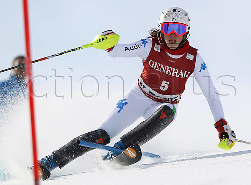 27 01 2012  Ski Alpine FIS WC St Moritz Super Combination women St Moritz Switzerland  Picture shows Federica  ITA