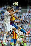 Real Madrid´s Fabio Coentrao during 2014-15 La Liga match between Real Madrid and Valencia at Santiago Bernabeu stadium in Madrid, Spain. May 09, 2015. (ALTERPHOTOS/Luis Fernandez)