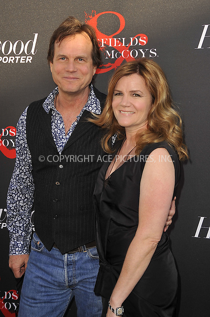 WWW.ACEPIXS.COM . . . . .  ....May 21 2012, LA....(L-R) Bill Paxton and Mare Winningham at a special screening of 'Hatfields & McCoys' hosted by The History Channel at Milk Studios on May 21, 2012 in Hollywood, California. ....Please byline: PETER WEST - ACE PICTURES.... *** ***..Ace Pictures, Inc:  ..Philip Vaughan (212) 243-8787 or (646) 769 0430..e-mail: info@acepixs.com..web: http://www.acepixs.com