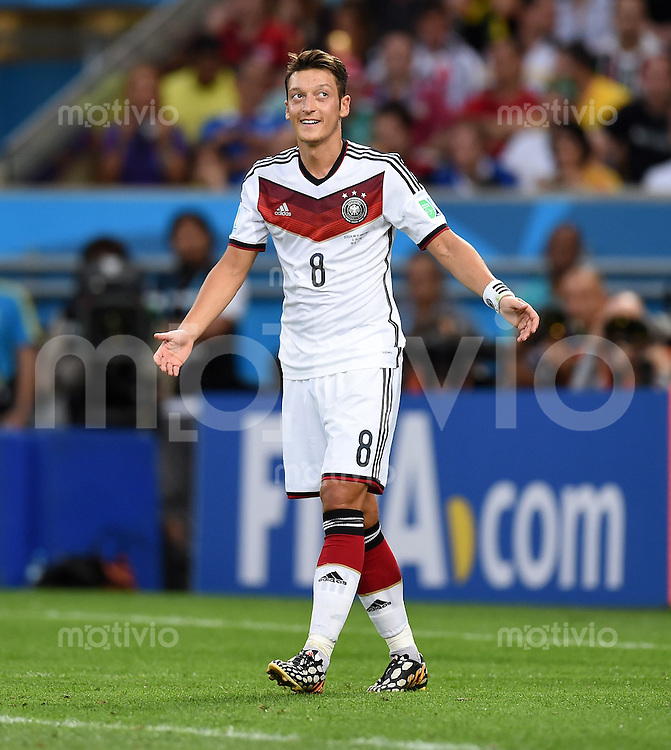 FUSSBALL WM 2014                FINALE Deutschland - Argentinien     13.07.2014 Mesut Oezil (Deutschland)