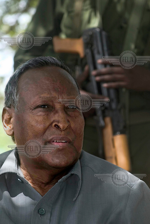 Transitional government (TFG) President Abdullahi Yussuf.