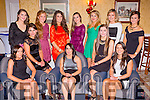 The Kerry senior ladies footballers at the Kerry Ladies GAA social in the Dromhall Hotel on Saturday night front row l-r: Patrice Dennehy, Gina Crowley, Sarah Houlihan, Maria Quirke, Caroline Kelly. Back row: Eilish O'Connor, Laura Collins, Brid Sayers, Brid O'Connor, Deirdre Kearney, Eilish Kavanagh and Bernie Cronin