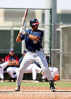 Chris Nash / Cleveland Indians 2008 Instructional League..Photo by:  Bill Mitchell/Four Seam Images