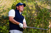 Phil Mickelson (USA) watches his tee shot on 17 during round 4 of the World Golf Championships, Mexico, Club De Golf Chapultepec, Mexico City, Mexico. 3/5/2017.<br /> Picture: Golffile | Ken Murray<br /> <br /> <br /> All photo usage must carry mandatory copyright credit (&copy; Golffile | Ken Murray)