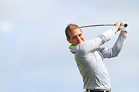 Declan Reidy (Co.Sligo) on the 14th tee during Round 3 of The Irish Amateur Open Championship in The Royal Dublin Golf Club on Saturday 10th May 2014.<br /> Picture:  Thos Caffrey / www.golffile.ie