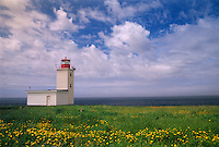 Cape St. Mary Lighthouse <br /> Cape St. Mary<br /> Nova Scotia<br /> Canada