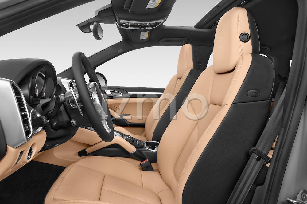 Front seat view of a 2014 Porsche Cayenne Platinum Edition 5 Door SUV Front Seat car photos